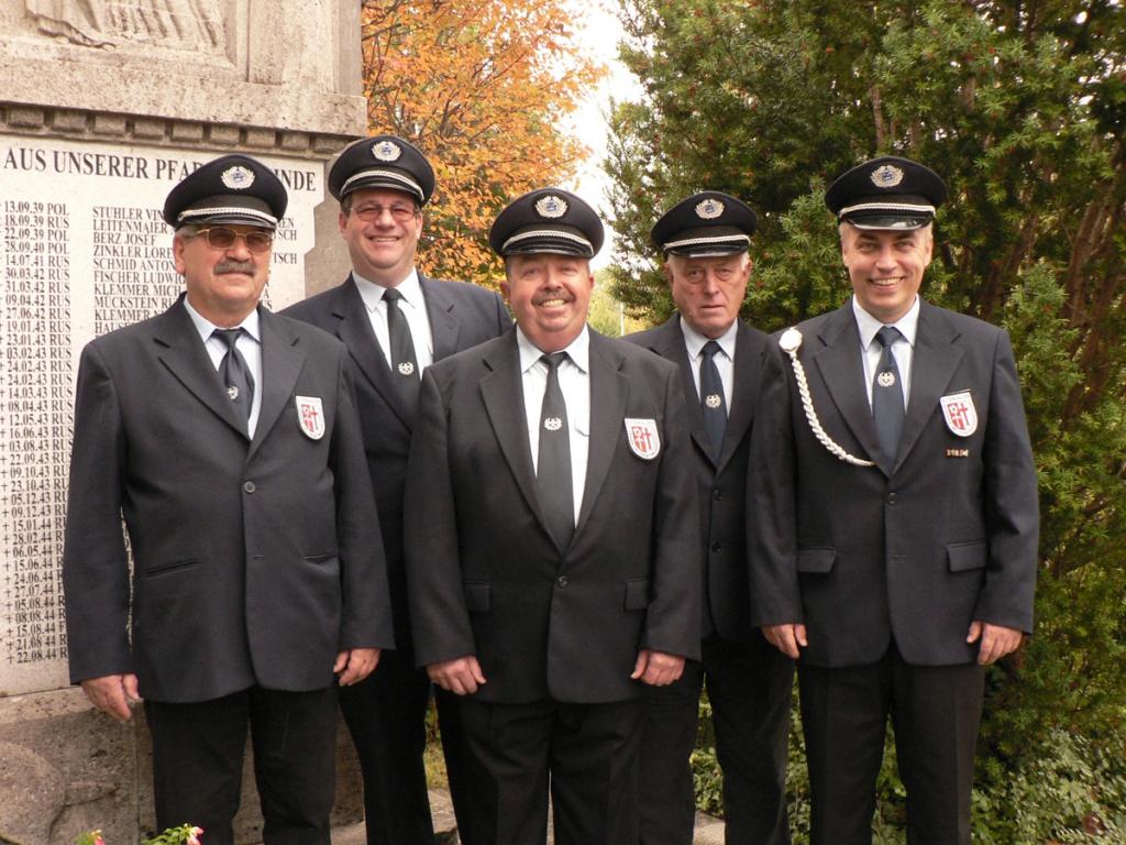 Beisitzer: Barnert Günther, Fischer Georg, Mayer Christian, Dankel Johann, Pfeiffer Edgar