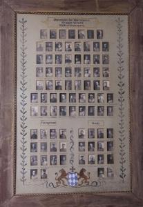 Ehrentafel des Veteranen- und Krieger-Vereins