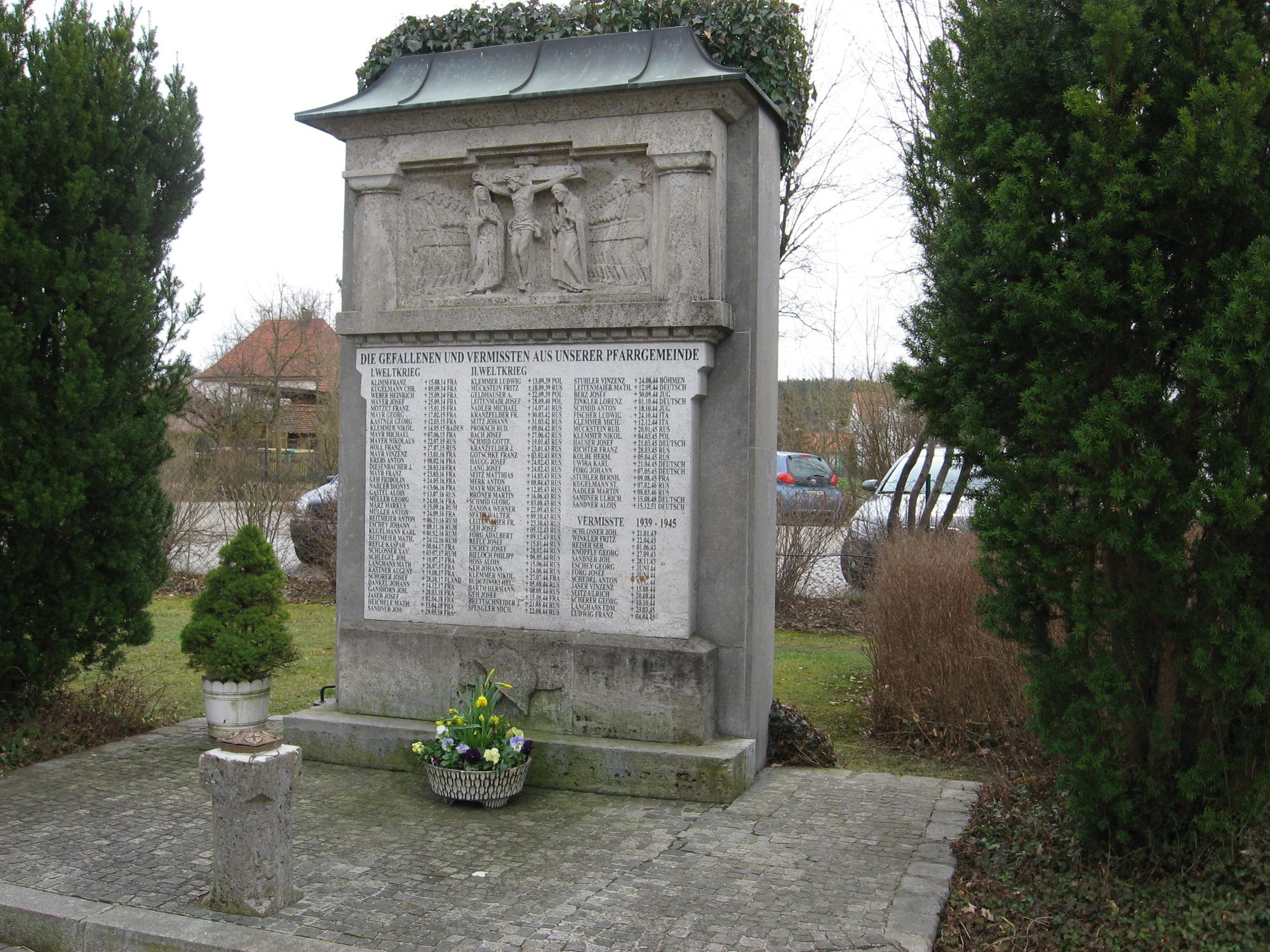 Kriegerdenkmal Kutzenhausen
